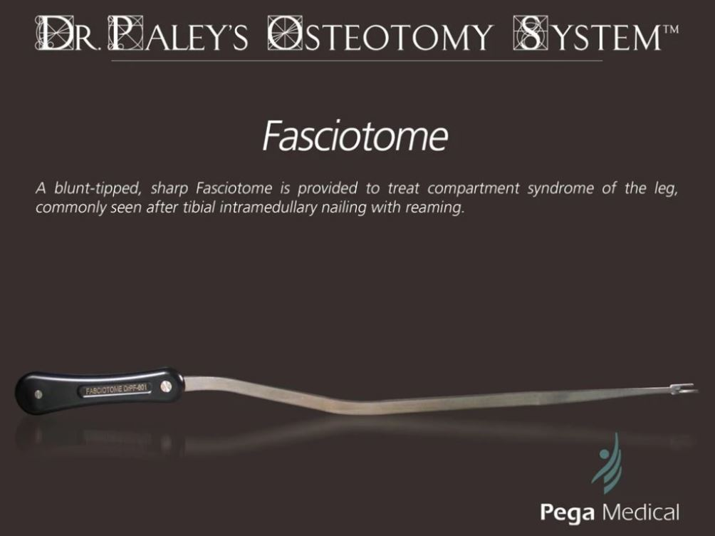 Fasciotome Dr. Paley's Osteotomy System
